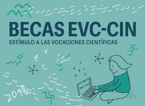 Afiche Promocional de las Becas EVC-CIN